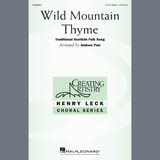 Partition chorale Wild Mountain Thyme (arr. Andrew Parr) de Traditional Scottish Folk Song - 3 voix mixtes