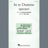 Partition chorale In Te Domine Speravi de Dietrich Buxtehude - SAB