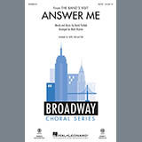 David Yazbek Answer Me (from The Band's Visit) (arr. Mark Brymer) - Bb Clarinet l'art de couverture