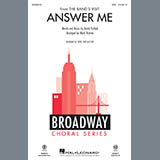 David Yazbek Answer Me (from The Band's Visit) (arr. Mark Brymer) l'art de couverture