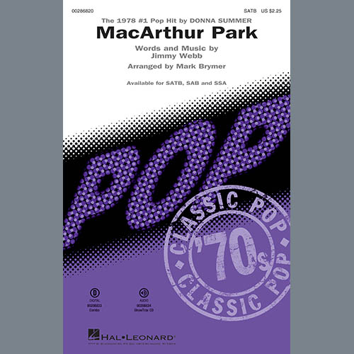 MacArthur Park (arr  Mark Brymer) - Trumpet 2 by Donna Summer Choir  Instrumental Pak Digital Sheet Music