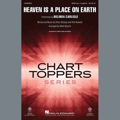 Heaven Is A Place On Earth (arr. Mark Brymer)