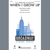 When I Grow Up (from Matilda: The Musical) (arr. Roger Emerson) - Choir Instrumental Pak