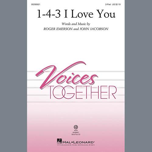 1-4-3 I Love You