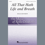 Rollo Dilworth All That Hath Life and Breath - Congas cover art
