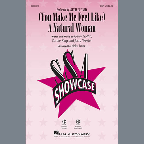 (You Make Me Feel Like) A Natural Woman (arr. Kirby Shaw)