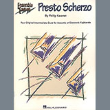 Alpine Snowfall (from Presto Scherzo) (for 2 pianos)