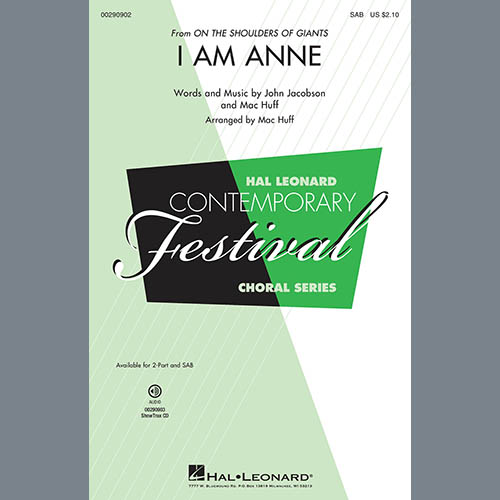 I Am Anne (from On The Shoulders Of Giants) (arr. Mac Huff)