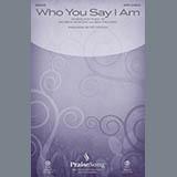 Hillsong Worship Who You Say I Am (arr. Ed Hogan) - Piano cover art