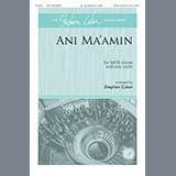 Traditional Jewish Tune Ani Ma'amin (arr. Stephen Coker) cover art