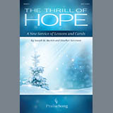 Joseph M. Martin and Heather Sorenson The Thrill of Hope (A New Service of Lessons and Carols) cover art