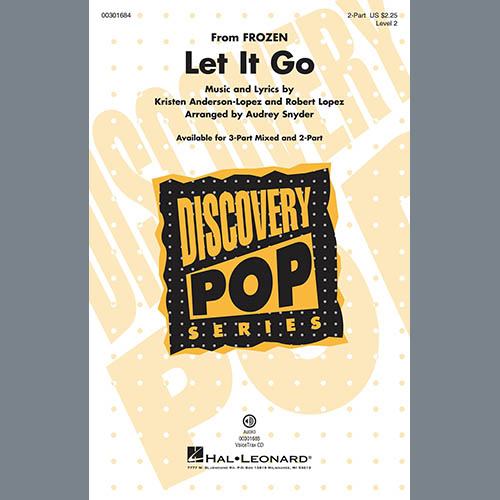 Let It Go (from Frozen) (arr. Audrey Snyder)