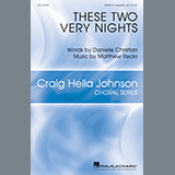Danielle Christian and Matthew Recio These Two Very Nights cover art