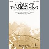 Song Of Thanksgiving (arr. John Leavitt)