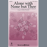 Amber R. Maxwell Alone With None But Thee (arr. Heather Sorenson) cover art