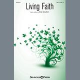 Brad Croushorn Living Faith cover art