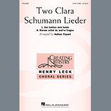 Nathan Payant Two Clara Schumann Lieder (Warum willst du and're fragen) cover kunst
