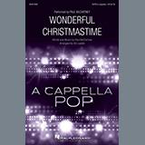Paul McCartney Wonderful Christmastime (arr. Ed Lojeski) cover art