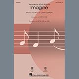 John Lennon Imagine (arr. Kirby Shaw) cover art