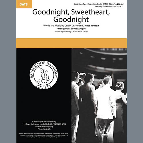 Goodnight, Sweetheart, Goodnight (arr. Mel Knight)