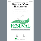 Stephen Schwartz - When You Believe (from The Prince Of Egypt) (arr. John Leavitt)