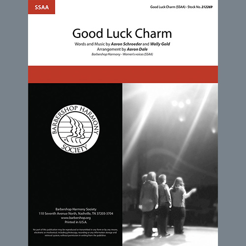 Good Luck Charm (arr. Aaron Dale)