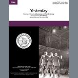 The Beatles Yesterday (arr. Tom Gentry) cover kunst