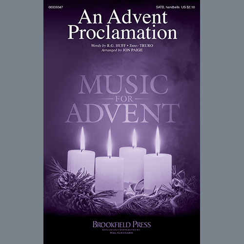 An Advent Proclamation (arr. Jon Paige)