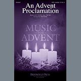 R.G. Huff An Advent Proclamation (arr. Jon Paige) arte de la cubierta