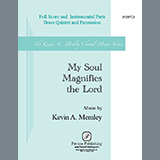 Kevin A. Memley My Soul Magnifies the Lord (Brass Quintet and Percussion) - French Horn in F cover art