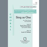Jude Roldan Sing as One cover art