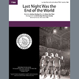 Last Night Was The End Of The World (arr. Barbershop Harmony Society)