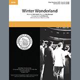 Dick Smith & Felix Bernard Winter Wonderland (arr. Ed Waesche) cover kunst