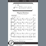 Partition chorale Magnus Dominus de John Tebay - SATB