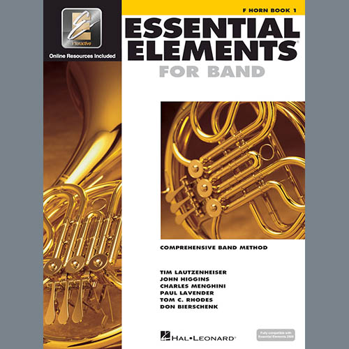 Essential Elements 2000, Bk 1 For F Horn (Book Only)