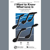I Want To Know What Love Is - Choir Instrumental Pak