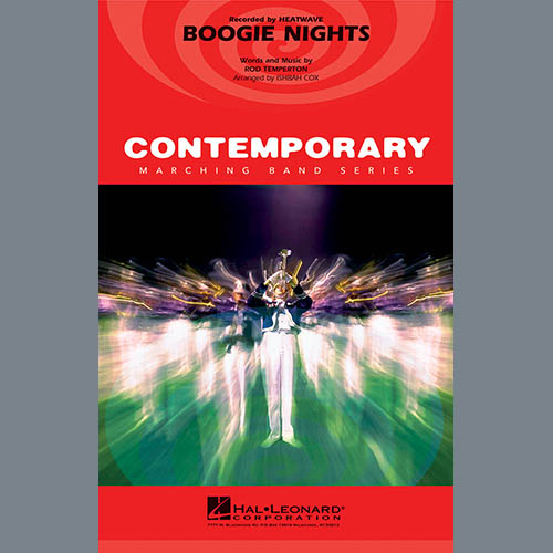 Boogie Nights - 1st Bb Trumpet