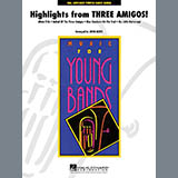 Highlights from Three Amigos! - Concert Band