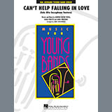 Cant Help Falling In Love (Solo Alto Saxophone Feature) - Concert Band