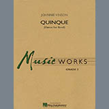 Quinque (Dance for Band) - Bb Clarinet 2 Noten