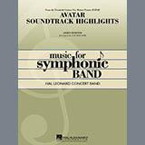 Avatar Soundtrack Highlights - Concert Band Partituras
