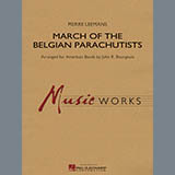 March Of The Belgian Parachutists - Concert Band Partiture
