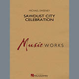 Michael Sweeney Sawdust City Celebration - Eb Alto Saxophone 1 cover kunst