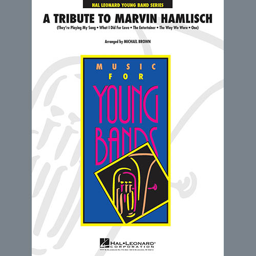 A Tribute To Marvin Hamlisch - Baritone B.C.