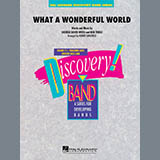 Robert Longfield What A Wonderful World - Percussion 1 cover art
