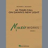 Richard L. Saucedo As Tears Fall on Dawn's New Light cover art