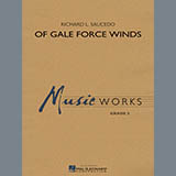 Of Gale Force Winds - Concert Band Partituras Digitais