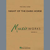 Night of the Dark Horse - Concert Band Bladmuziek