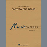 Timothy Broege Partita for Band - Percussion 2 cover kunst
