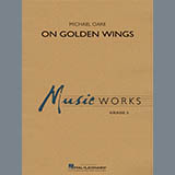Michael Oare On Golden Wings - Oboe cover kunst